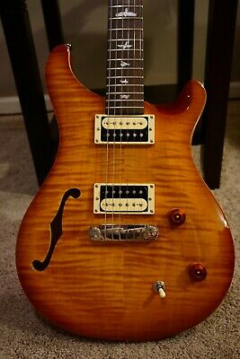 Paul Reed Smith SE Custom 22 Semi Hollow Vintage Sunburst w/ Gig-Bag