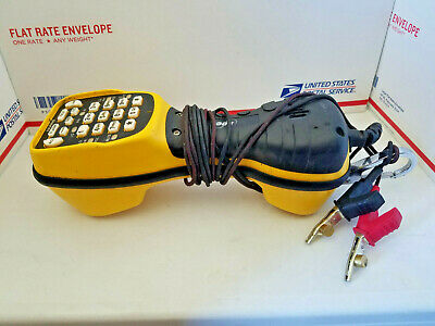 Harris TS44 Deluxe Lineman's Butt Set Test Phone Tested works fine