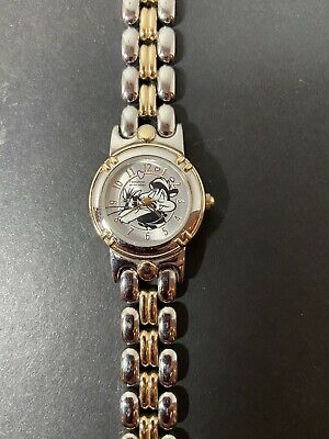 Pepe Le Pew & Penelope Armitron Watch - Silver & Gold Color Includes New Battery
