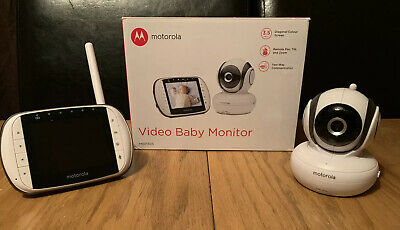 Motorola MBP36S Digital Video Baby Monitor. Boxed. Great Condition