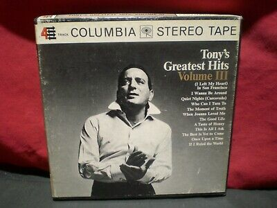 Tony Bennett  Today's Greatest Hits Vol. 3 Reel to Reel Tape Tested Sounds Great