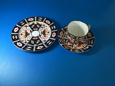 Royal Crown Derby Cup And Saucer And Bread And Butter Plate - 2451
