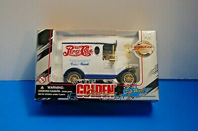 GOLDEN CLASSIC PEPSI-COLA TRUCK Gift Coin BANK -Special Edition Diecast