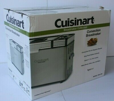 CUISINART CONVECTION 2 lbs LOAF BREAD MACHINE CBK-200  MORE FEATURES