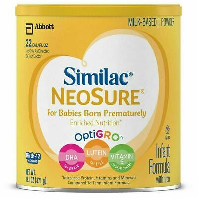 8 cans of Similac NeoSure