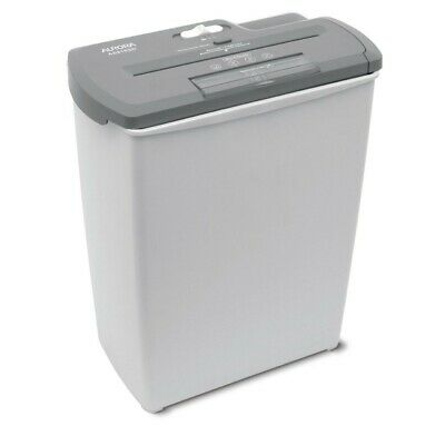 Aurora AS810SD 8-Sheet Strip-Cut Paper, CD and Cr8edit Card Shredder Basket, NEW