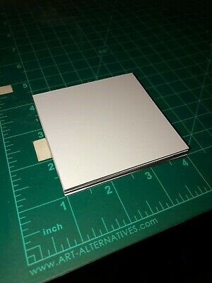 "PLAIN White Magnet Sheet 4"" x 4"" (6 SHEET of 30 mil Thick)"
