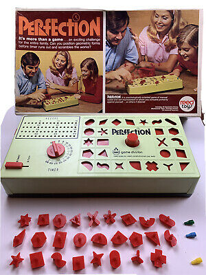 Vintage Perfection Game Reed 1970s. Complete.  Excellent Condition!