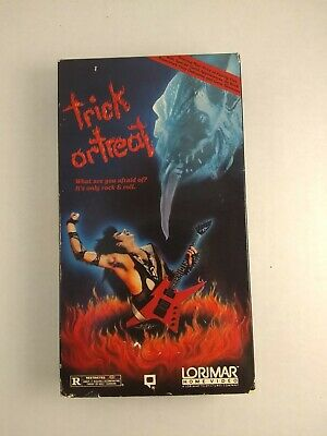 Trick Or Treat VHS - Rocktober Blood, Black Roses, Terror on Tour