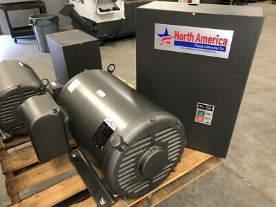 North American 50 HP Rotary Phase Converter