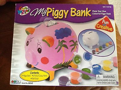 paint your own piggy bank brand new