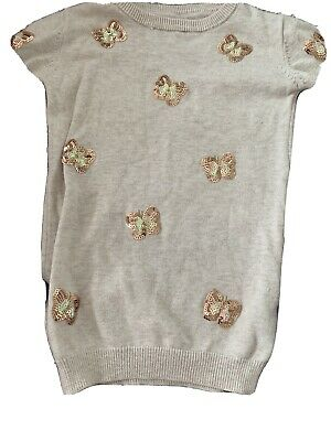Girls Age 3 Butterfly Jumper And Leggings