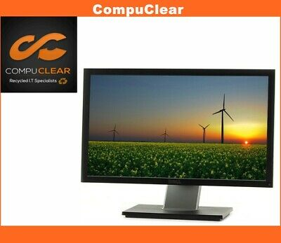 """Dell Professional P 2011 H - 20"""" Widescreen LCD Monitor - Grade A with Cables"""