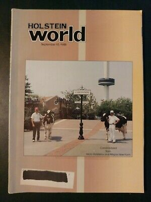 """Holstein World 1988 """"Charity"""" Completes Her Career + World Dairy Expo Book"""