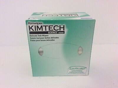 Kimtech Kimwipes Delicate Task Wipers 4 2/5 x 8 2/5 280 Count Box 34155