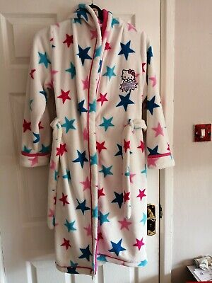Hello Kitty Supersort, Hooded Robe, size small,  excellent condition