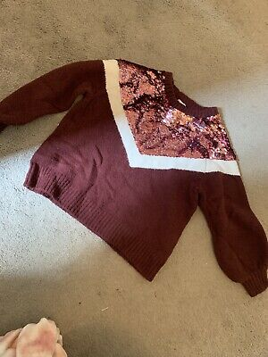 Girls River Island Jumper Ages 7/8 Years