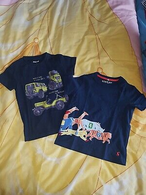 Boy Mayoral Joules Navy T-Shirt, Age 4