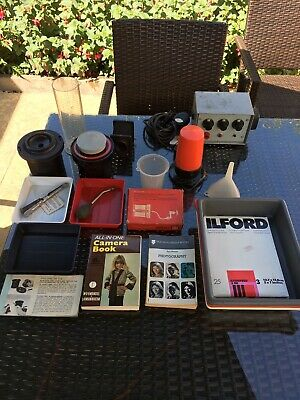Zenith UPA5M photo enlarger With Photo Processing Kit And Timer.