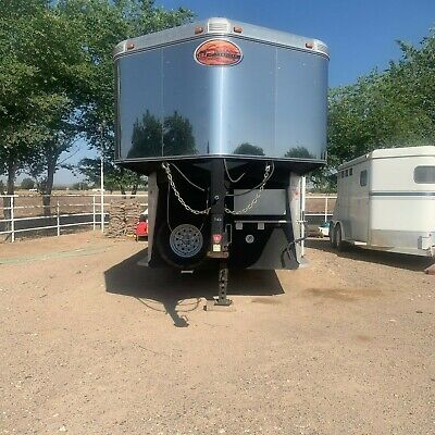 2007 Sundowner Sunlite 727 Living Quarters Horse Trailer 24 ft.
