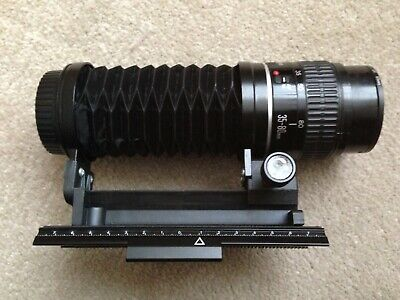 Canon Ultra MACRO Kit (1:1 +++) modified 35-80mm f4.5-5.6 +EF Bellows +UV Filter
