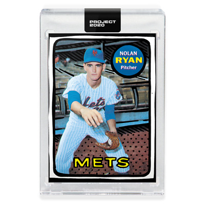 PRESALE Topps Project 2020 #87 Nolan Ryan New York Mets - Joshua Vides