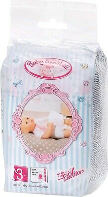Zapf Cration Baby Annabell Pack of 5 Nappies
