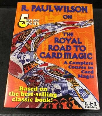 Vintage Magic Trick Card Trick Complete Course Royal Road
