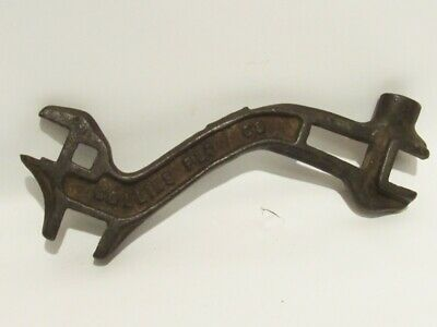 """ANTIQUE COLLINS PLOW Co """"S"""" WRENCH, cast iron"""