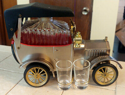 Vintage 1918 Ford Model T Decanter Music Box