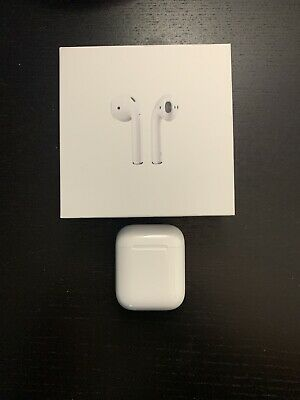 Apple Airpods (Gen 2) Charging Case Only Original Packaging & Cable Genuine OEM