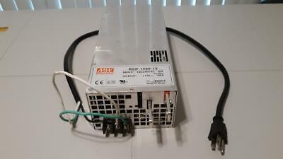 Mean Well RSP-1500-15 Power Supply