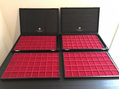 Abafil Minidiplomat Coin Case With Trays (Group Of 2).