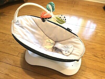4moms rockaRoo Compact Baby Swing Classic - Grey - Used DISINFECTED / CLEAN