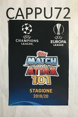 Topps Match Attax 101 -spécial Cards-Limited Édition Champions League- 2019/20