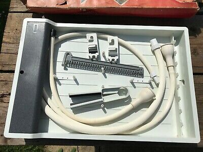 Paterson high speed print washer + 2 neg clips + squeegee tongs + thermometer