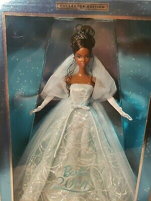 2001 Barbie Doll Collector New Years 50842 African American Doll