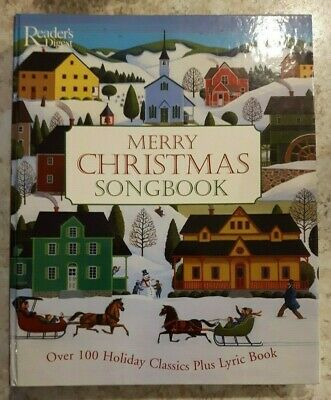 Readers Digest Merry Christmas Songbook Spiral Binding Piano Guitar Vocals 2003