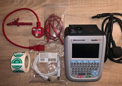 Seaward Apollo 400 PAT Tester Including Accessories & Carry Bag