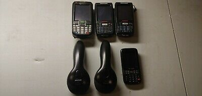 Mixed lot of 6 Honeywell Barcode scanners and handheld computers 7800LG