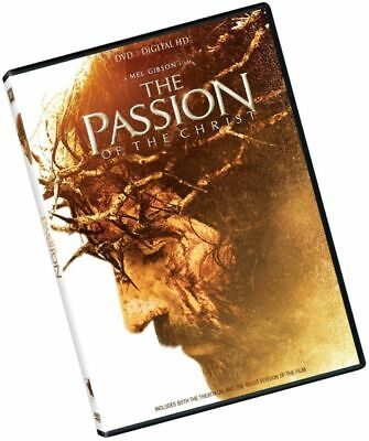 THE PASSION OF THE CHRIST (DVD) Mel Gibson In English and Spanish NEW