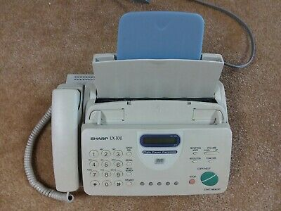 Sharp Fax Machine Model UX-300 with 1 Roll Film