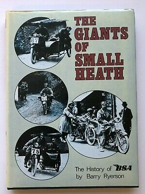The History of BSA Book The Giants of Small Heath Motorcycles