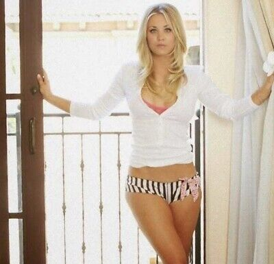 Kaley Cuoco - In Panties And A Top !!!
