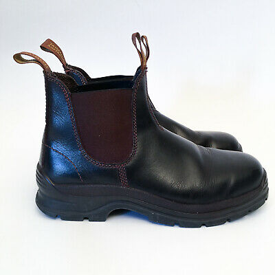 Blundstone 405 'Max Comfort' Work Boots. Elastic Sided, Leather, Non Safety. 8.5