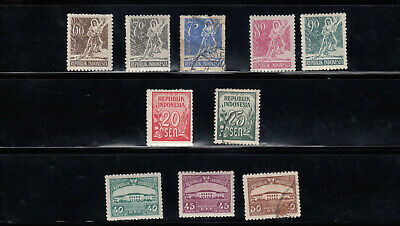 Stamp Collection • Indonesia • 9 SCANS