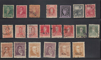 Stamp Collection •Argentina •12 SCANS
