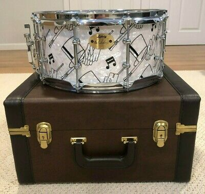 Ludwig 90th Anniversary Top Hat and Cane 6 1/2 x 14 Snare
