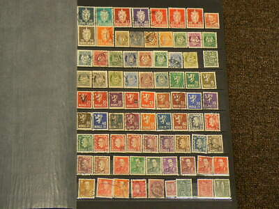 Norway Lot of Over 255 Cancelled Stamps #5178