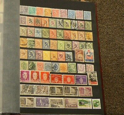Finland Over 200 Cancelled Stamps #5199